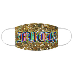 Xplicit glitter . Fabric Face Mask