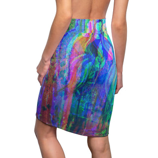 Mother Angle, Women's Pencil Skirt