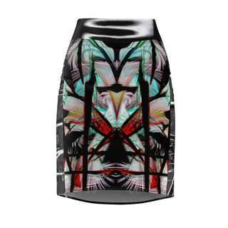 Welcome to the Jungle, Women's Pencil Skirt