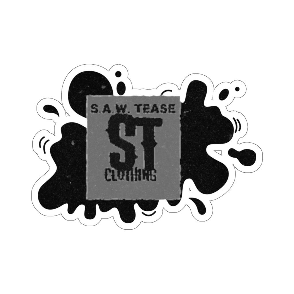 Saw Tease Clothing logo Kiss-Cut Stickers
