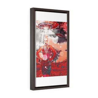 Vertical Framed Premium Gallery Wrap Canvas