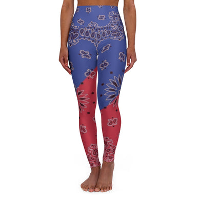 Cool, High Waisted Yoga Leggings