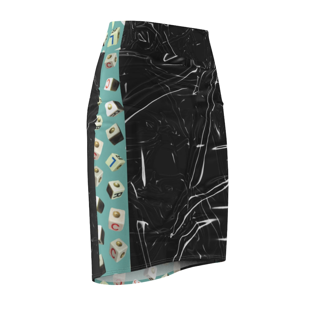 Roll em's Women's Pencil Skirt