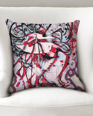 Pink jelly fish Throw Pillow Case 18
