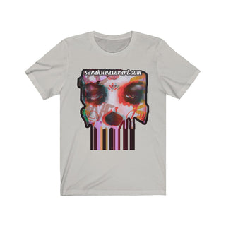 Dripping Mask, Unisex Jersey Short Sleeve Tee