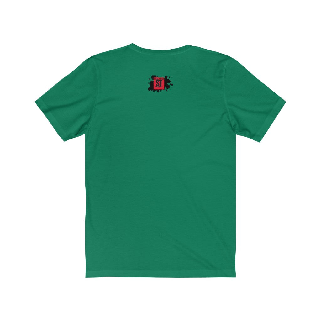 Boy behind the Mask, promotional green. Unisex Jersey Short Sleeve Tee