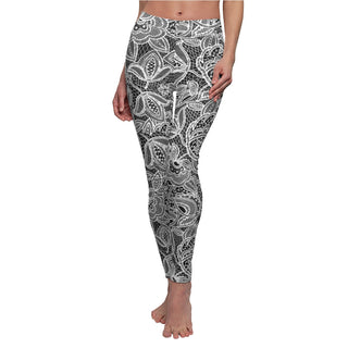 Look at the curtains. Women's Cut & Sew Casual Leggings