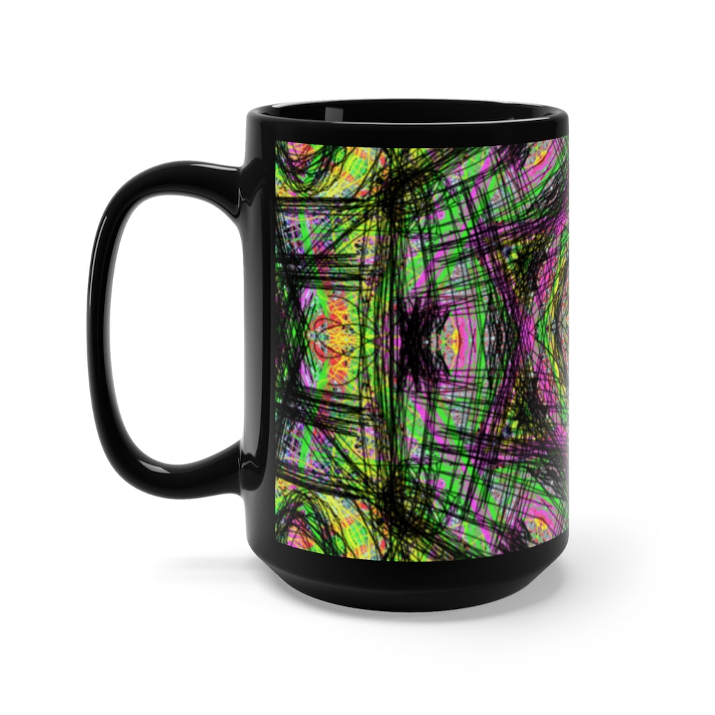 Cool Black Mug 15oz
