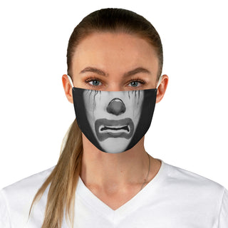 your face here! Fabric Face Mask