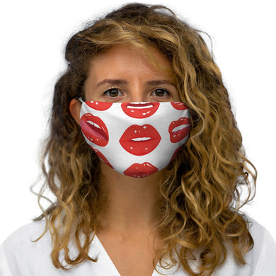 Lips Snug-Fit Polyester Face Mask