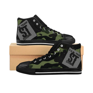 Camo Women's High-top Sneakers