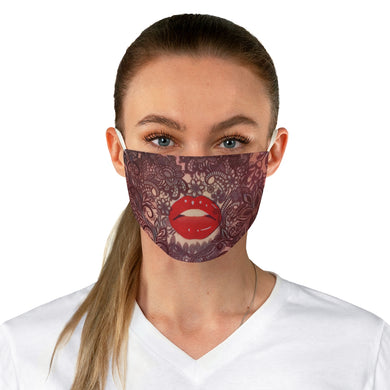 Kissable, Fabric Face Mask