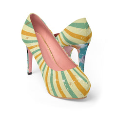 Sacred High, Women's Platform Heels