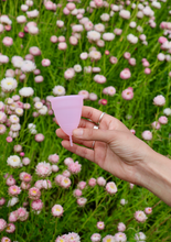Load image into Gallery viewer, Pink menstrual cup