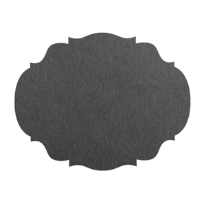 Gray Place Mat