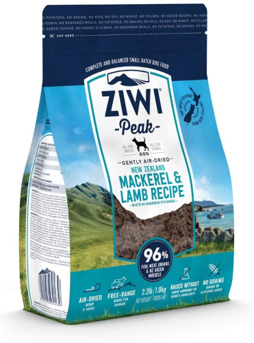 ZIWIPEAK DOG MACKEREL/LAMB 454G