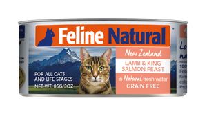 FELINE NATURAL LAMB/SALMON CAT CAN 3OZ