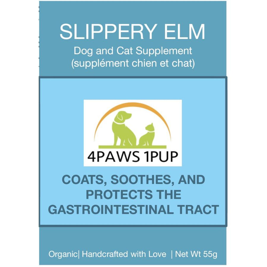 4PAWS1PUP SLIPPERY ELM POWDER 55G