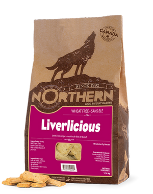 NORTHERN BISCUIT LIVERLICIOUS 500G