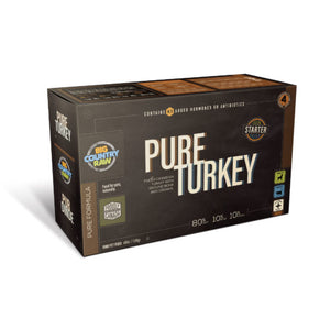 BCR PURE TURKEY CARTON 4LB