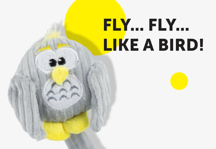 BEONEBREED PUPPY TOY BABY OWL