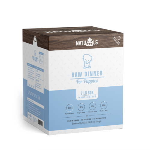 NATURAWLS RAW PUPPY DINNER 14X227G