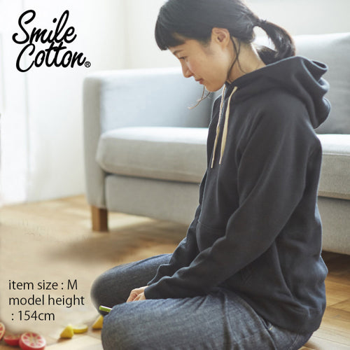Women's Smile Cotton French Terry Hoodie