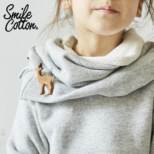 Smile Cotton French Terry Snood