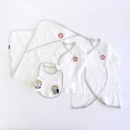 5-pcs SmileCotton Baby gifts seta A