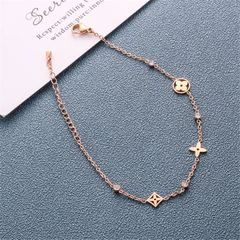 Cubic Zirconia Music Note Charms Earrings
