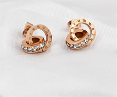 Single Side Ear Ring Snake Statement Earrings