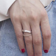Classic Layers Beaded Adjustment Rings
