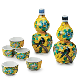 Figural Subjects Design Sake Sets