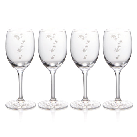 Momiji Wine & Sake Glasses Set of 4