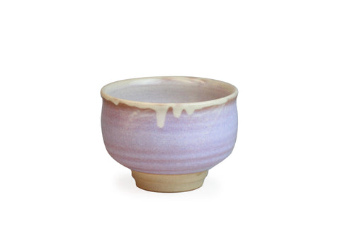 Hagi Ware Purple Matcha Bowl