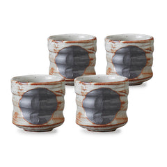Nezumishino Pottery Tea Cup Set of 4