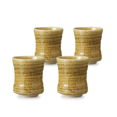 Kiseto Pottery Tea Cup Set of 4