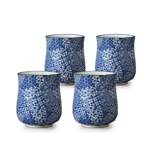 Gojo Pottery Tea Cup Set of 4