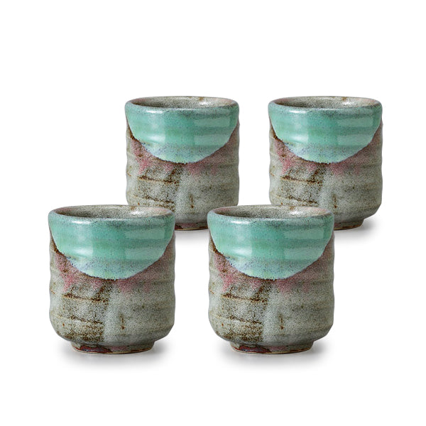 Blueness Pottery Tea Cup Set of 4
