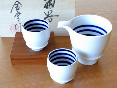 Kura Sake Set Buds Shape