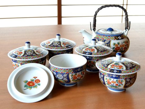Genroku Arita Porcelain Tea Set