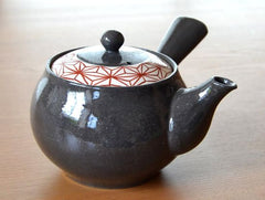 Red Pattern Arita Porcelain Tea Set