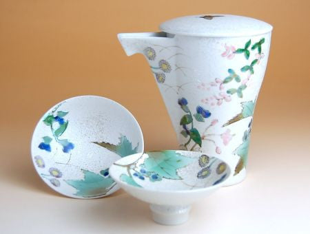 Takumi no Kura Autumn Grass Arita Porcelain Sake Set