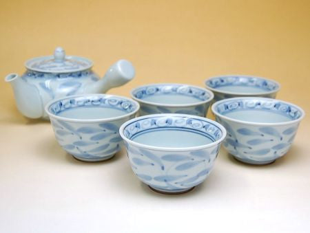 Floral Arita Porcelain Tea Set Type B