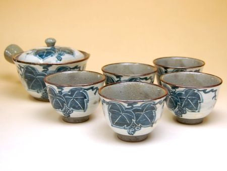 Grape Arita Porcelain Tea Set