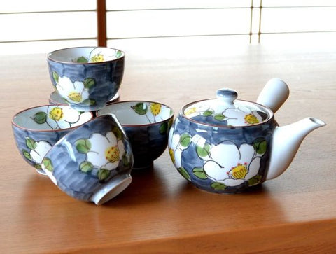 Flowers Arita Porcelain Tea Set Type B