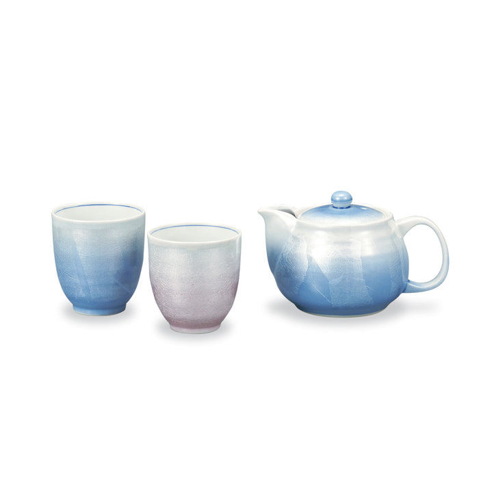 Ginsai Kutani Ware Tea Set
