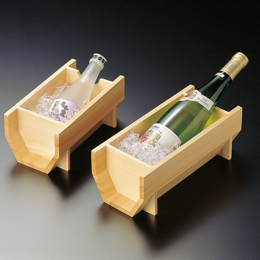 Sake & Wine Wooden Cooling Container