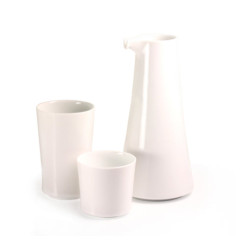 Agasuke Arita Porcelain Sake Set by essence
