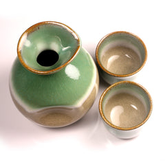Late Autumn Arita Porcelain Sake Set